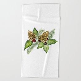 Pine For Me Beach Towel