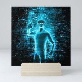 Virtual Reality User Mini Art Print