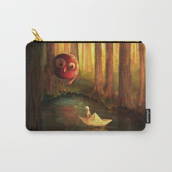 Forest Encounter Carry-All Pouch