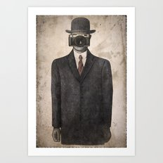 Son of Photographer Art Print