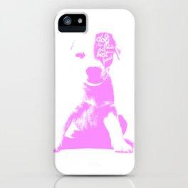 A mans best friend iPhone Case