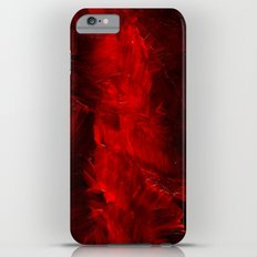 Red Abstract Paint iPhone 6 Plus Slim Case