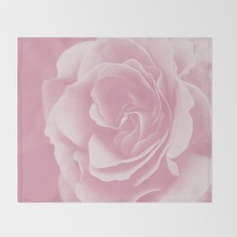 Light Pink Rose #2 #floral #art #society6 Throw Blanket