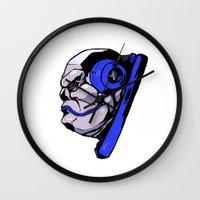 xmen Wall Clocks featuring x24 by jason st paul
