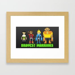 Bravest warriors!  Framed Art Print