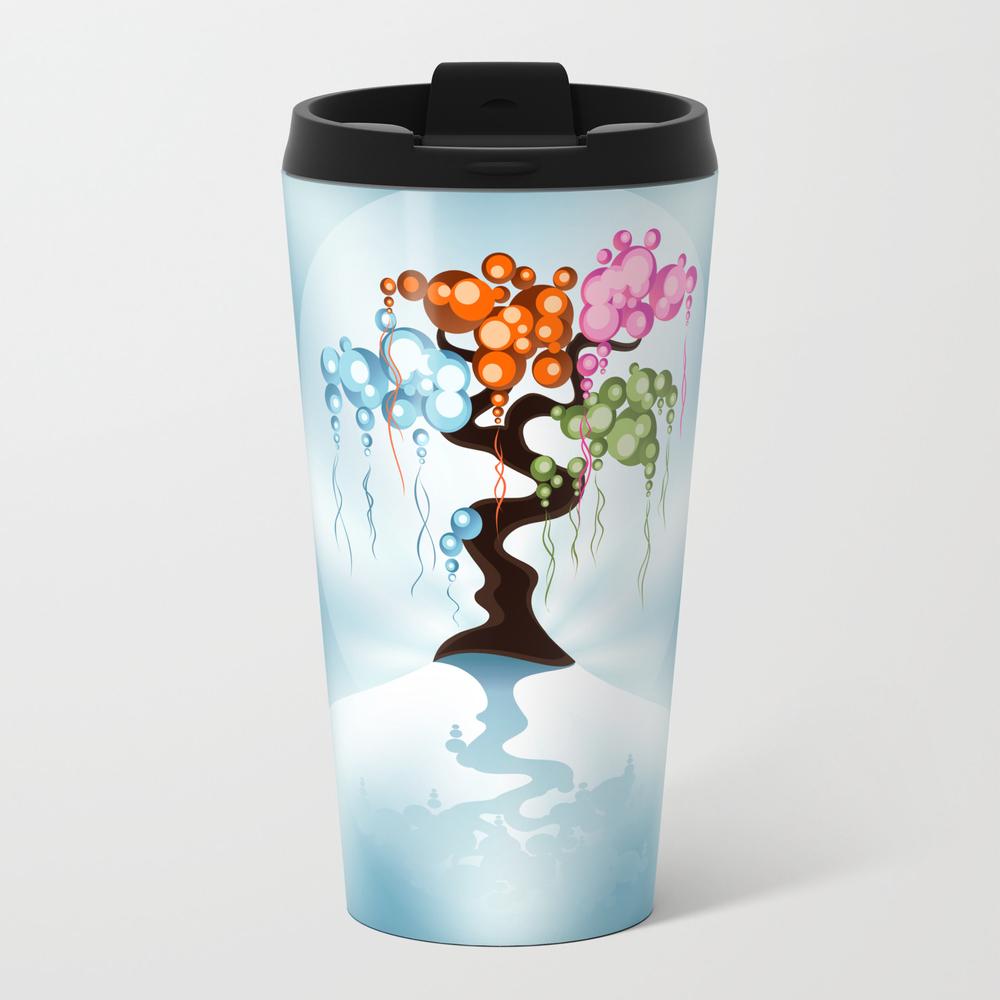 The Four Seasons Bubble Tree Travel Mug TRM899105