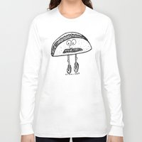 taco Long Sleeve T-shirts featuring Taco by Addison Karl