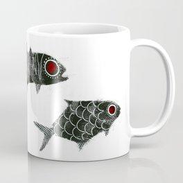 Curious Fishies Coffee Mug