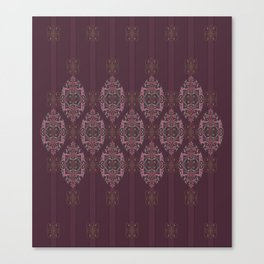 Vintage Burgundy vertical Canvas Print