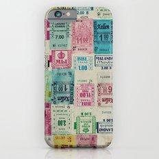 Random Bus Tickets Slim Case iPhone 6s