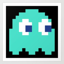 8-Bits & Pieces - Inky Art Print