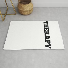 Awesome and Cool Parkour Tshirt Design Theraphy Parkour Rug