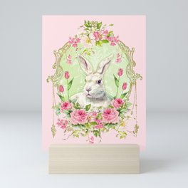 Spring Bunny Mini Art Print
