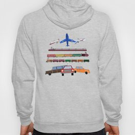 Planes, Trains and Automobiles Hoody