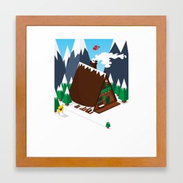 Chalet Framed Art Print