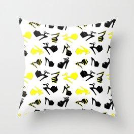 Heels love Throw Pillow