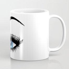 Fashion blue eye Coffee Mug