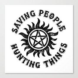 Saving People Canvas Print