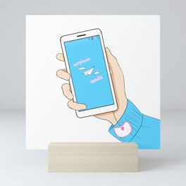 Airplane Mode Mini Art Print