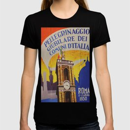 Roma 1950 Vintage Travel Poster T-shirt