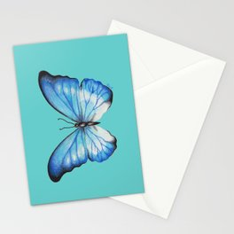 Blue Butterfly Stationery Cards