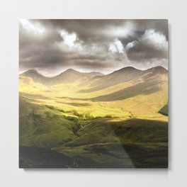 Up To The Mountains Metal Print