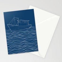 Barco caiçara - fisherman boat  Stationery Cards