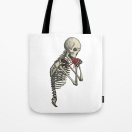 Eat Your Heart Tote Bag