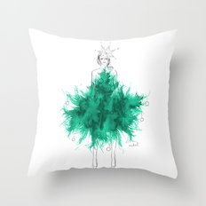 Christmas Tree Fashion Throw Pillow
