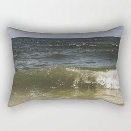oceanic blues Rectangular Pillow
