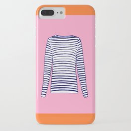 FRENCH STRIPED SHIRT iPhone Case