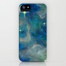 Soft Blue Haze iPhone Case