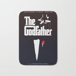 The Godfather, 1972 (Minimalist Movie Poster) Bath Mat