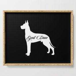 Great Dane Serving Tray