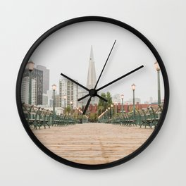 Falling in Love with San Francisco Wall Clock