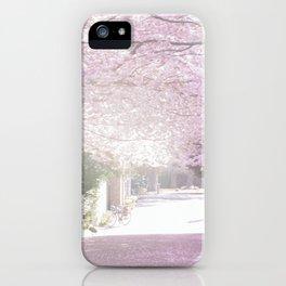 Cherry Blossom Sunday iPhone Case