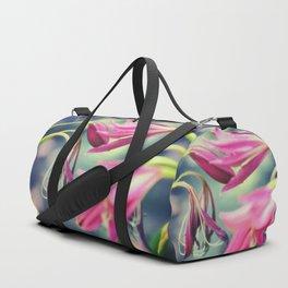 Dancing Crinum Lilies Duffle Bag