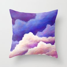 Dreaming of Clouds Throw Pillow
