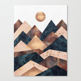 Autumn Peaks Canvas Print