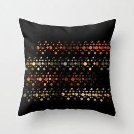Abstact OrangeYellow Throw Pillow