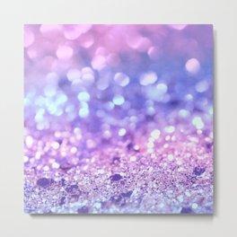 Summer Unicorn Girls Glitter #2 #shiny #pastel #decor #art #society6 Metal Print