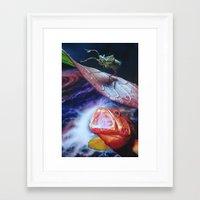 bug Framed Art Prints featuring Bug by John Turck