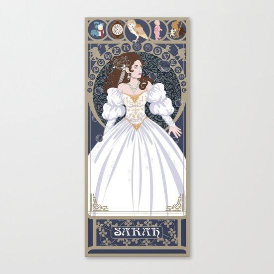 Sarah Nouveau - Labyrinth Canvas Print
