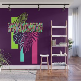 Neon Exotic #society6 #tropical Wall Mural