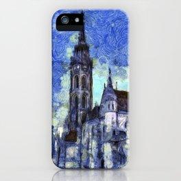 The Church Vincent Van Gogh iPhone Case