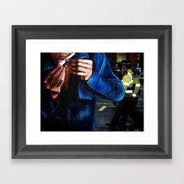 A JOINT OPERATION Framed Art Print