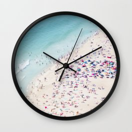 beach - summer love Wall Clock