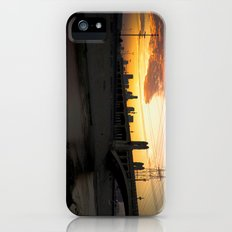 Los Angeles - Downtown Canal Sunset iPhone (5, 5s) Slim Case