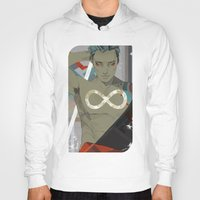 infinity Hoodies featuring Infinity by Cassandra Jean