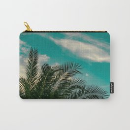 Palms on Turquoise - II Carry-All Pouch